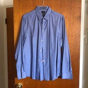 H&M men's button down shirt XL slim fit